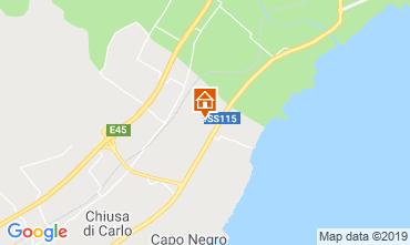 Karte Avola Villa 95053