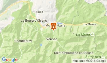 Karte Les 2 Alpes Appartement 106447