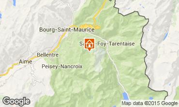 Karte Les Arcs Appartement 38427