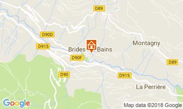 Karte Brides Les Bains Appartement 114912