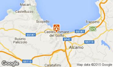 Karte Castellammare del Golfo Appartement 70426