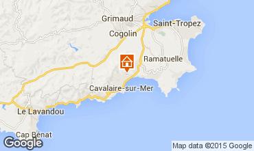 Karte Cavalaire-sur-Mer Appartement 83249
