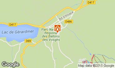 Karte Gérardmer Appartement 4607