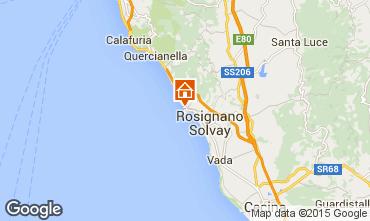 Karte Castiglioncello Appartement 72083