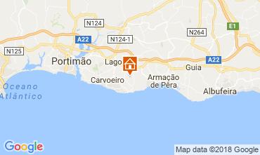 Karte Carvoeiro Villa 115911