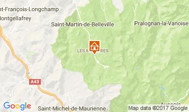 Karte Les Menuires Appartement 111788