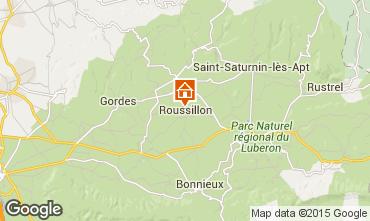 Karte Roussillon Haus 100544