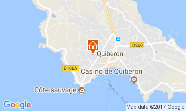 Karte Quiberon Haus 111327