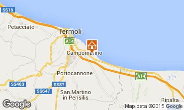Karte Campomarino Appartement 18458