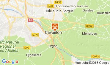 Karte Cavaillon Villa 113322
