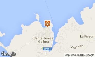 Karte Santa Teresa di Gallura Appartement 84500