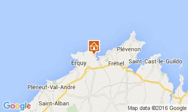 Karte Erquy Villa 104359