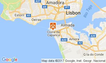Karte Costa de Caparica Appartement 108440