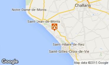Karte Saint Jean de Monts Mobil-Home 9432