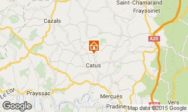 Karte Cahors Haus 94738