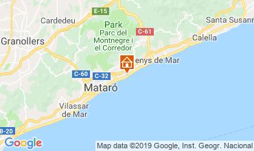 Karte Barcelona Appartement 76574