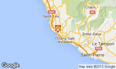 Karte Saint Leu Bungalow 94595