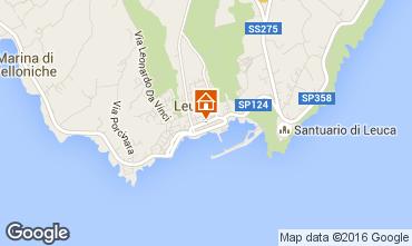 Karte Santa Maria di Leuca Appartement 79206