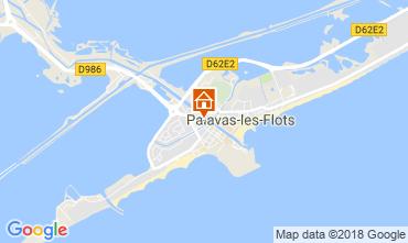 Karte Palavas-les-Flots Appartement 114446