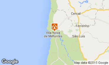 Karte Vila nova de Milfontes Villa 46746