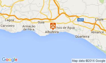 Karte Albufeira Appartement 105450