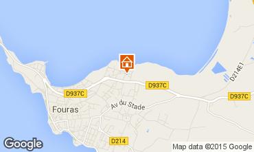 Karte Fouras Villa 80650