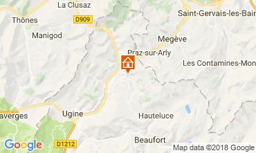 Karte Notre Dame de Bellecombe Chalet 113667