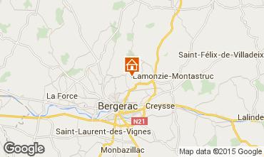 Karte Bergerac Ferienunterkunft auf dem Land 81835