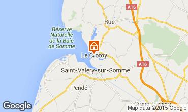 Karte Le Crotoy Haus 64382
