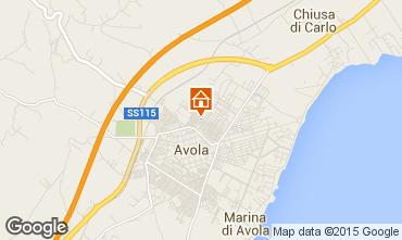 Karte Avola Haus 82687