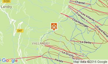 Karte Peisey-Vallandry Appartement 106831