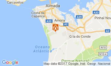 Karte Lissabon Villa 111042