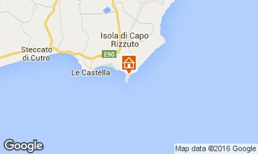 Karte Isola di Capo Rizzuto Appartement 102410