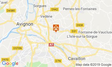Karte Avignon Villa 94500