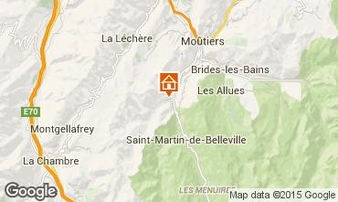 Karte Les Menuires Chalet 60911