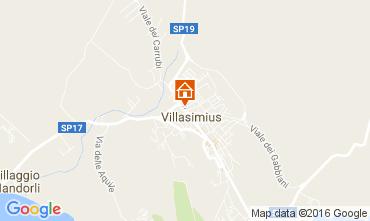 Karte Villasimius Haus 100655