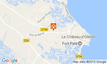 Karte Le Château d'Oléron Haus 107551