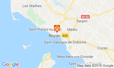 Karte Royan Appartement 55283
