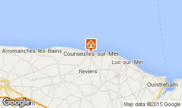 Karte Courseulles-sur-Mer Appartement 99204