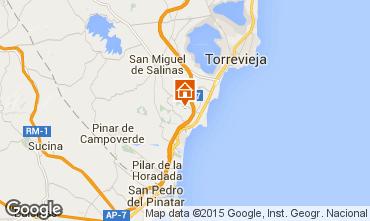 Karte Torrevieja Villa 39657