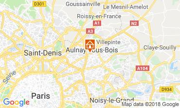 Karte PARIS Appartement 93070