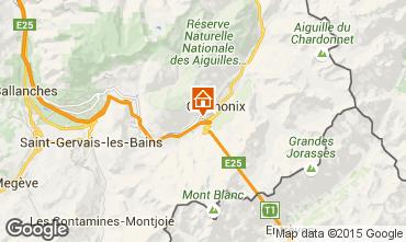 Karte Chamonix Mont-Blanc Appartement 32184