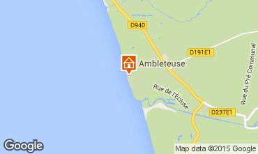 Karte Ambleteuse Appartement 81109