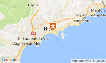 Karte Nice Appartement 114380