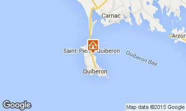 Karte Saint Pierre Quiberon Villa 81399