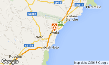 Karte Avola Haus 52247