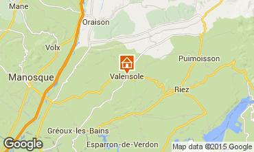 Karte Valensole Villa 94865