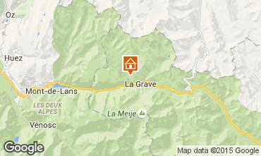 Karte La Grave - La Meije Chalet 4764