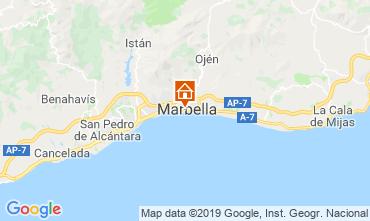 Karte Marbella Appartement 119630