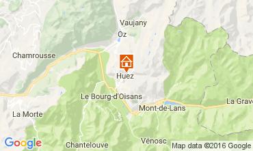 Karte Alpe d'Huez Chalet 14816